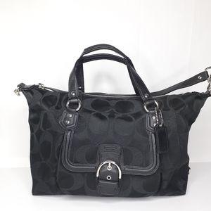 Coach Campbell Large Satchel Purse Handbag Bag